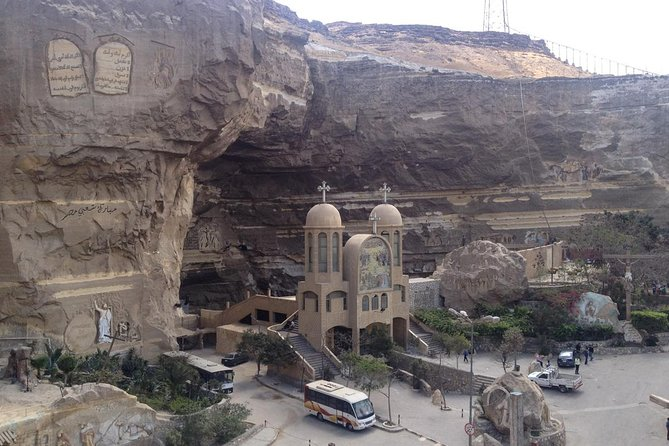 half-day Saint Simon monastery and miracle of Moqqatam mountain with Coptic Cairo