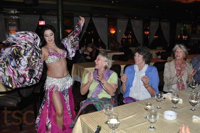 night-tour an amazing night tour Nile dinner with open buffet and belly dancer