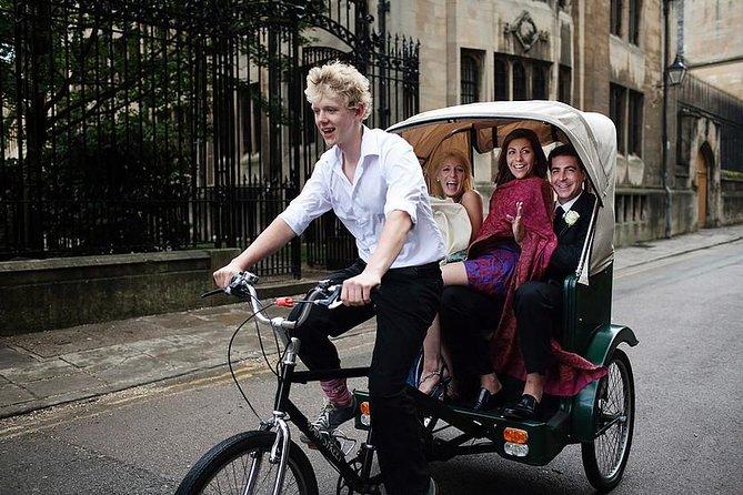 Visite de la ville d'Oxford en 75 minutes avec Pedicab