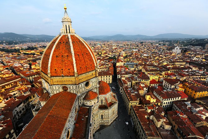 Bird's eye view of Brunelleschi's Dome