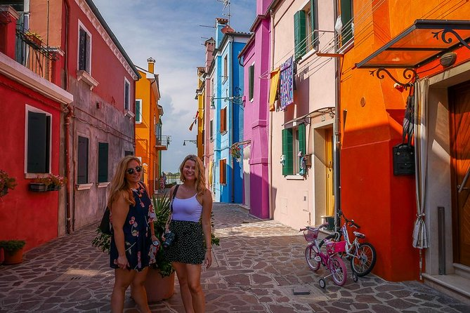 Murano & Burano Islands Half Day Guided Tour by Private Boat