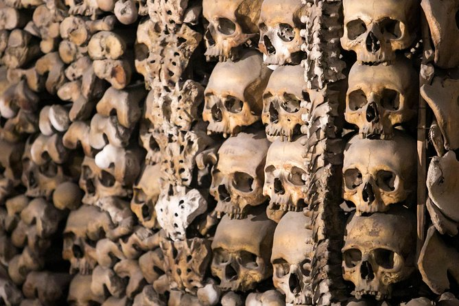 Exclusive After-Hours Tour: Crypts, Catacombs & Bone Chapel