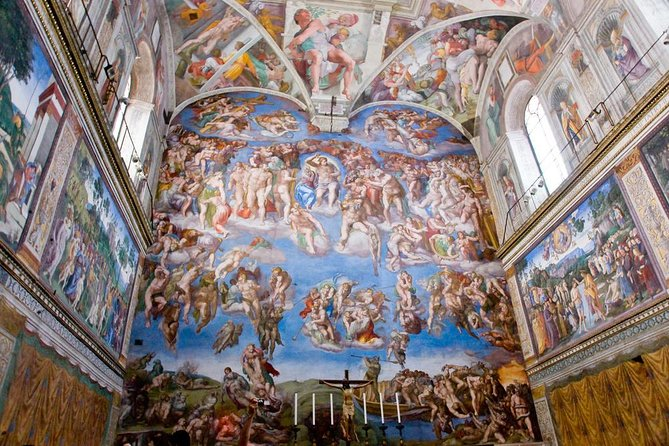 Sistine Chapel Private Viewing Small-Group Tour of the Vatican's Secret Rooms