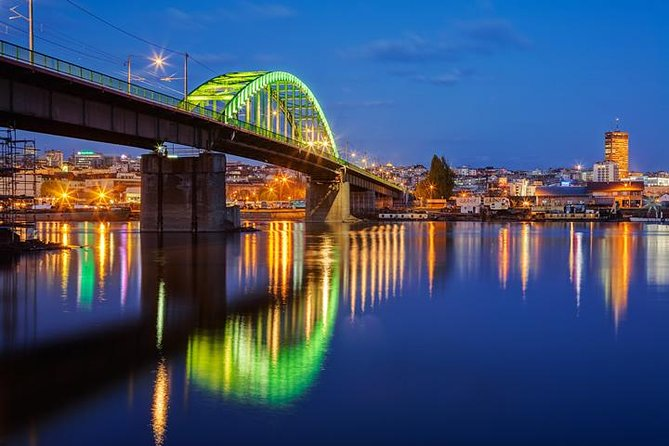 Tram Bridge at Night