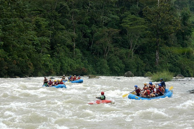 Wild Savegre River Whitewater Rafting from Manuel Antonio