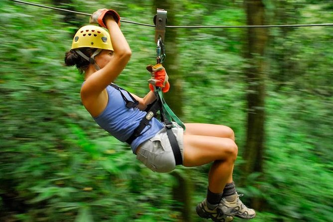 Zip Lining Adventure from Manuel Antonio