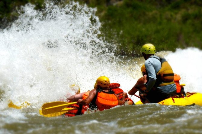 Royal Gorge Rafting Half Day Tour (FREE wetsuit use!) - Class IV Extreme fun!