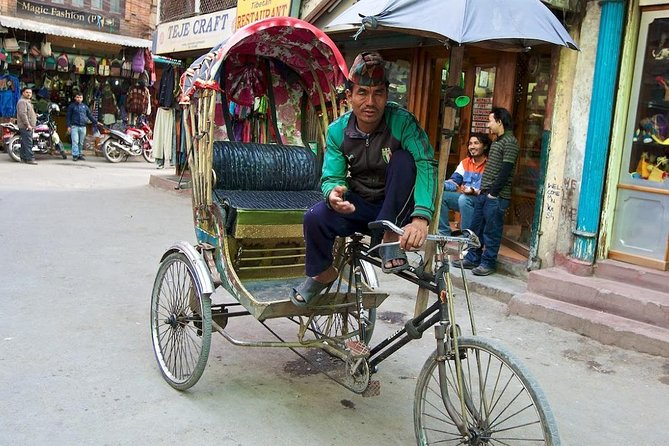 Private Rickshaw Sightseeing Tour for 3 Hours
