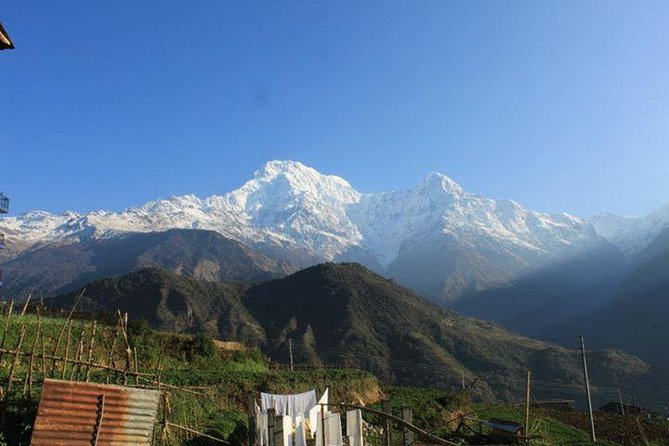Private Short Trek To Annapurna view Himalaya