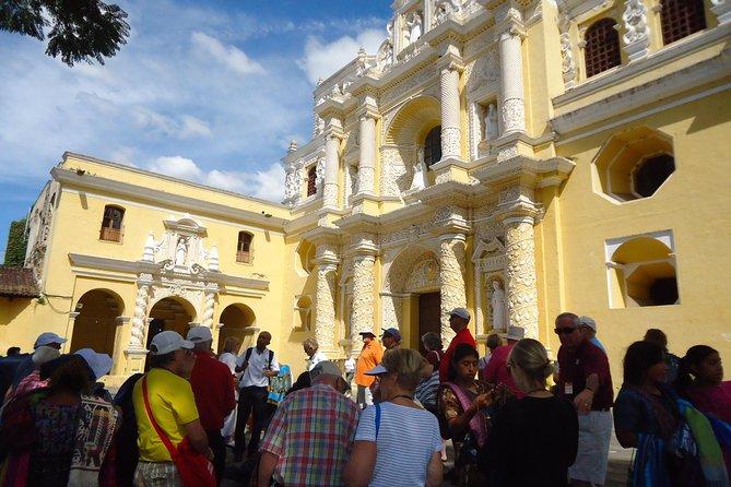 La Antigua Cultural walking tour from Puerto Quetzal