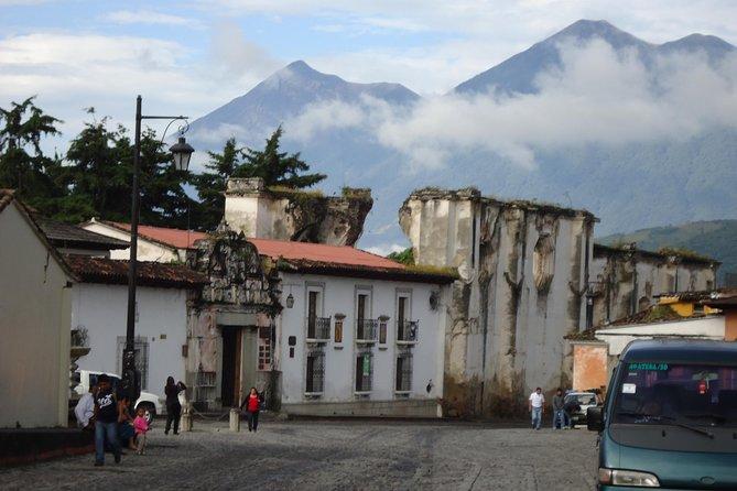 LA ANTIGUA CITY TOUR from Guatemala City