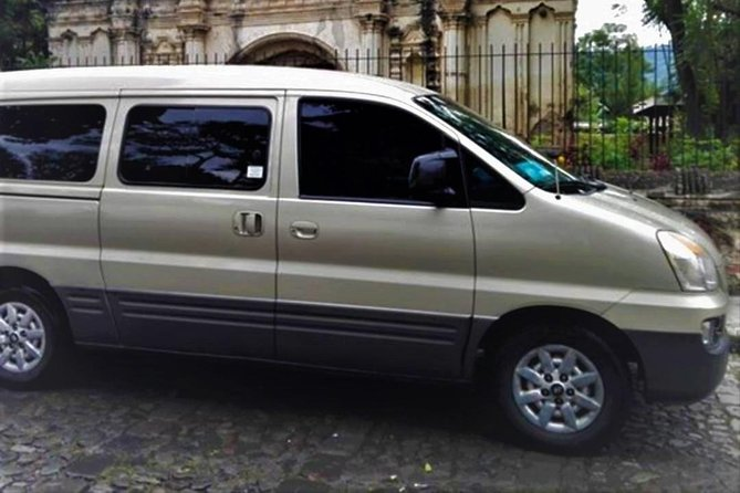 From Antigua to Guatemala City. AIRPORT SHARED TRANSPORTATION