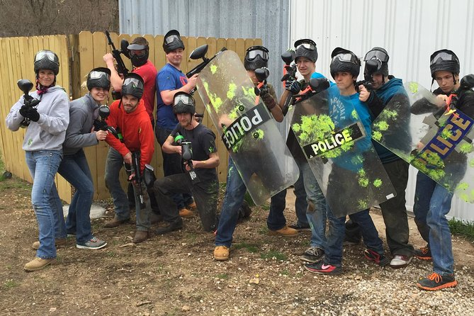 Adventure Valley Paintball Fun