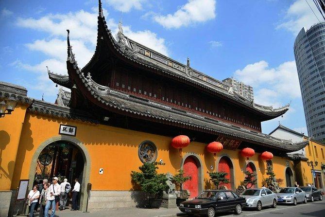 Shanghai eftermiddagsgruppstur med Jade Buddha Temple och Old French Concession