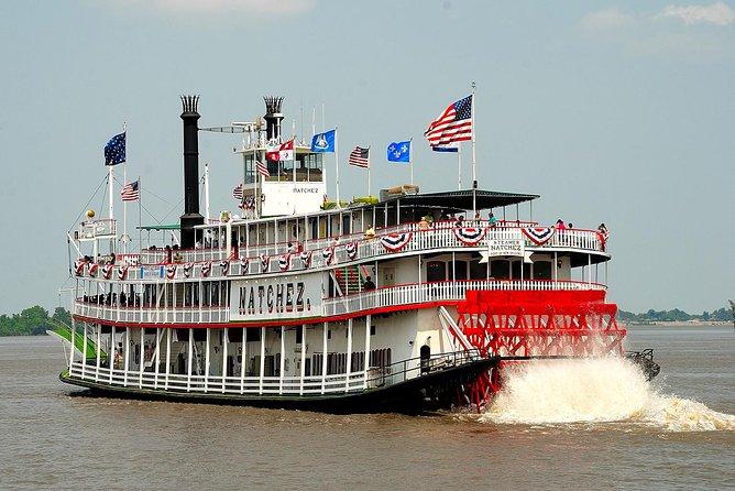 Steamboat Natchez Jazz Brunch Cruise in New Orleans