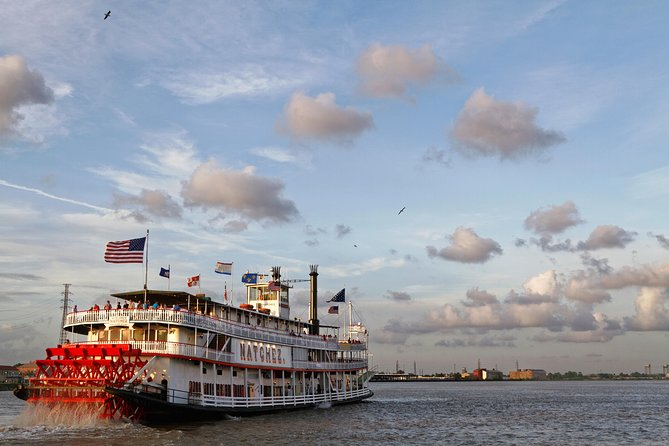 Viator VIP: Steamboat Natchez Dinner Cruise with Private Boat and Engine Room Tour