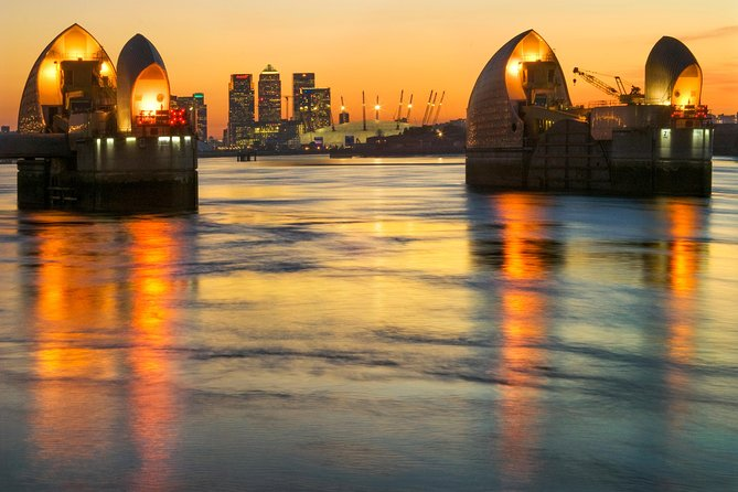 Westminster to Greenwich via the Thames Barrier Sightseeing Cruise