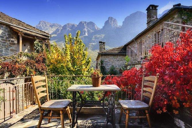 One day private tour Zagori from Corfu, Aristi-Papingko-Voidomatis river
