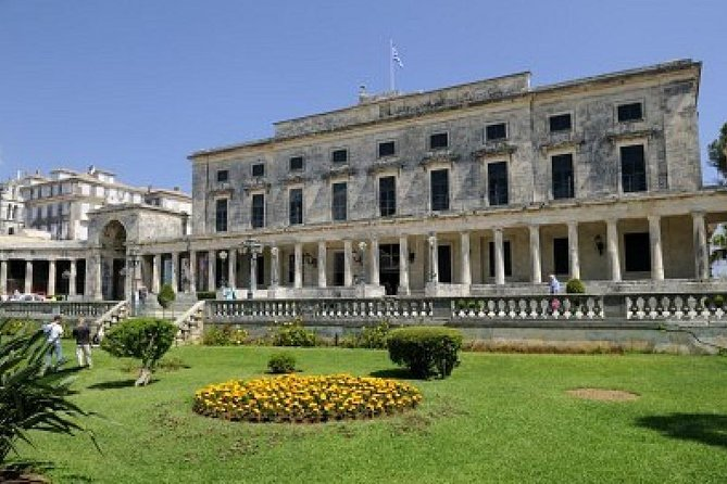 Achillion and Corfu town tour, private tour