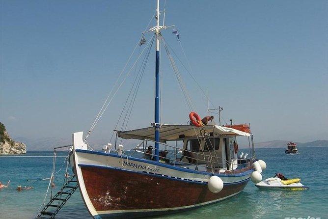 Corfu boat trip, swimming & BBQ