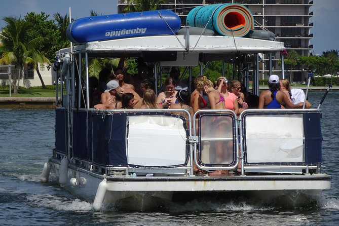 4-Hour Private Party Charter for 25 guests in Miami & Miami Beach