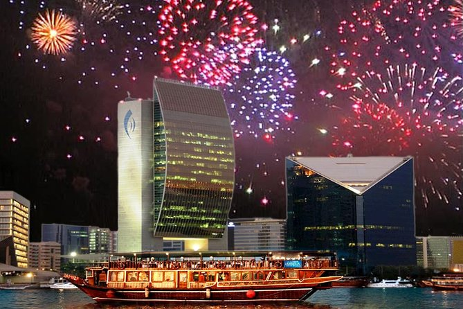 New Years Eve Gala Dinner Cruise in Dubai Creek