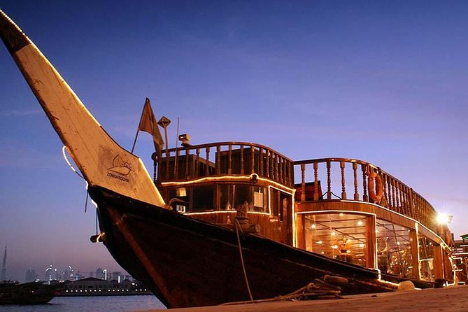 2-Hour Zomorrodha Floating Restaurant Dinner Cruise Group Tour from Dubai