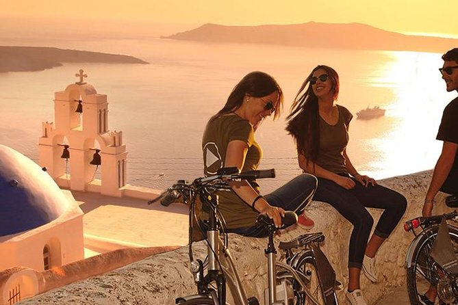 Classical Santorini Tour on Electric Bike photo 7