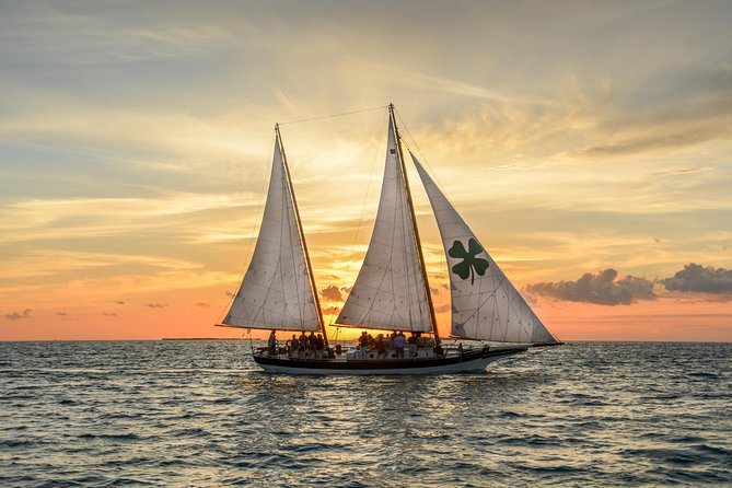 Key West Premium Sunset Sail aboard Schooner with Hors D'oeuvres and Full Bar