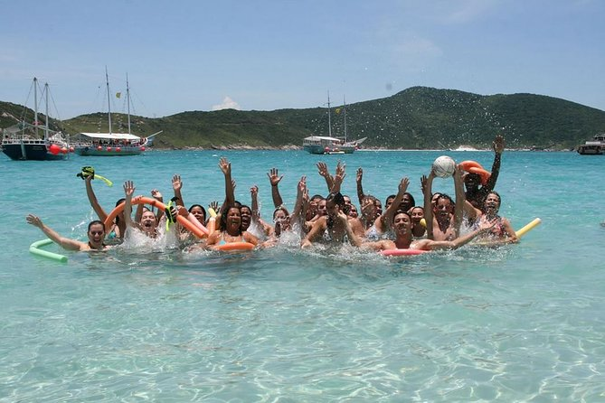 Visit Arraial Do Cabo plus Boat ride and Lunch