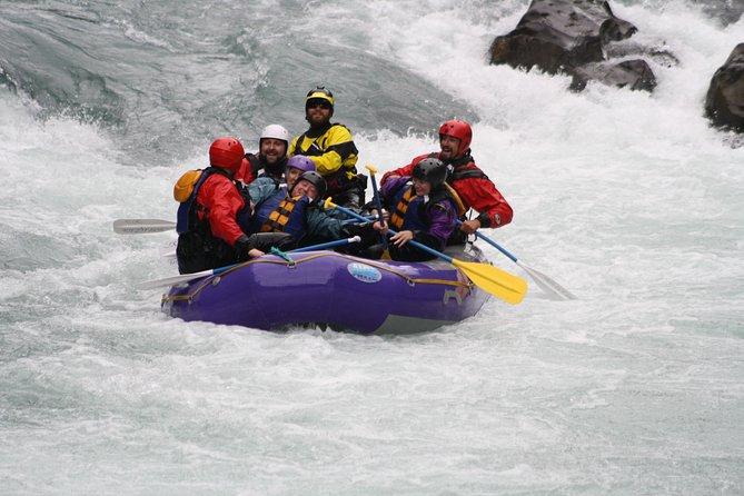 Halvdag Tre Canyon Six Mile Creek Whitewater Rafting