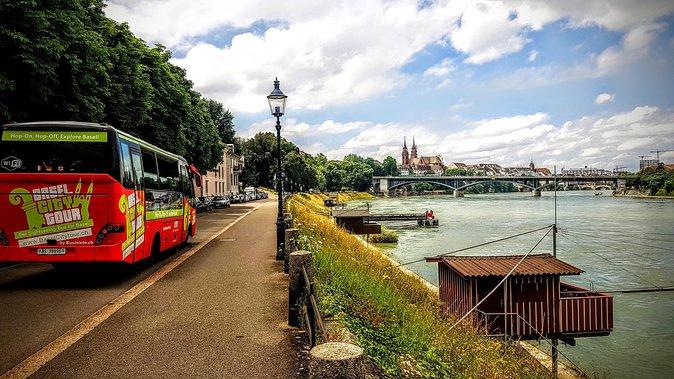 Visita por la ciudad de Basilea en autobús
