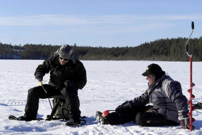 Ice Fishing Experience from Rovaniemi