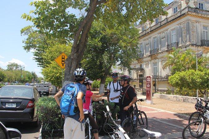 Recorrido cultural en bicicleta por Mérida
