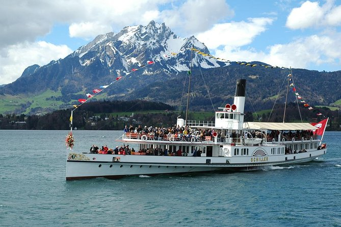 Self-Guided Mt Pilatus Tour and Lake Lucerne Cruise from Lucerne