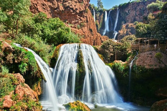 The Stunning Ouzoud Falls and Barbary Macaque Monkeys Day Trip from Marrakech