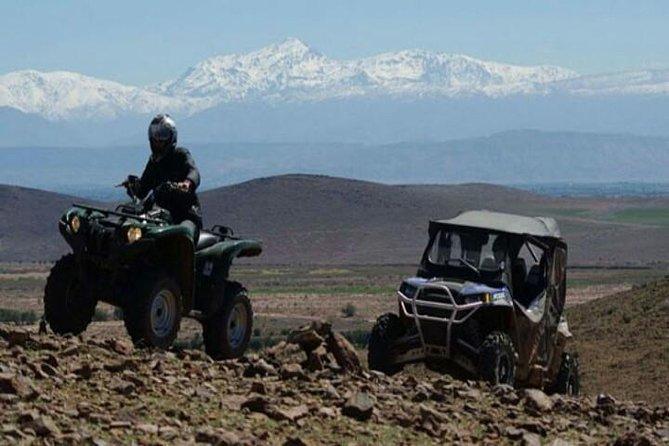Altas Mountains Off-Road Buggy eller Quad Adventure: Halvdagstur fra Marrakech