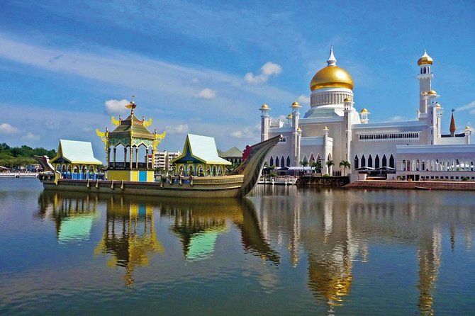 Brunei Half Day City Tour with Royal Regalia, Istana Nurul Iman & Kampung Ayer