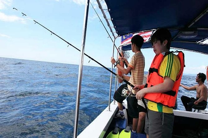 Half Day Fishing Trip at South China Sea from Kota Kinabalu photo 1