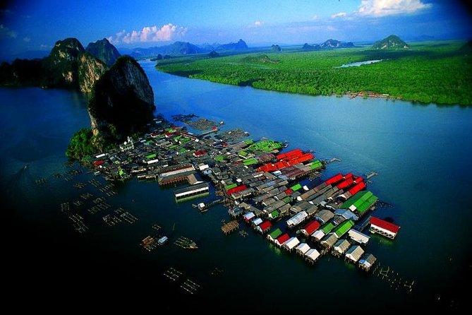 Phang Nga Tour mit dem Bus und dem Longtail Boot