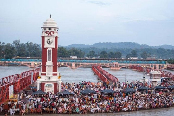 Private - Day Tour To Haridwar From New Delhi By Train
