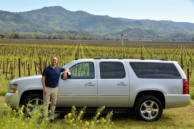 6-Hour Private Wine Tour up to 6 Guests Napa Valley or Sonoma