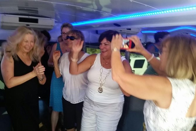 Dancing in the Party Bus