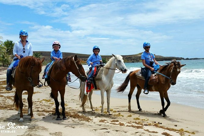 Horseback Riding at Atlantic Shores Beach