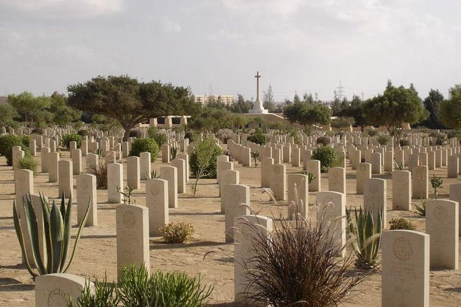 Day Trip to El Alamein from Cairo with World War II Museum and Cemetery