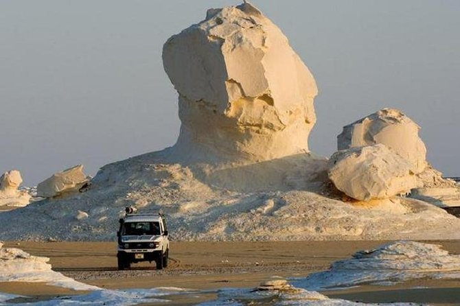 Safari at The Black and White Desert Overnight tour Baharia Oasis from Cairo
