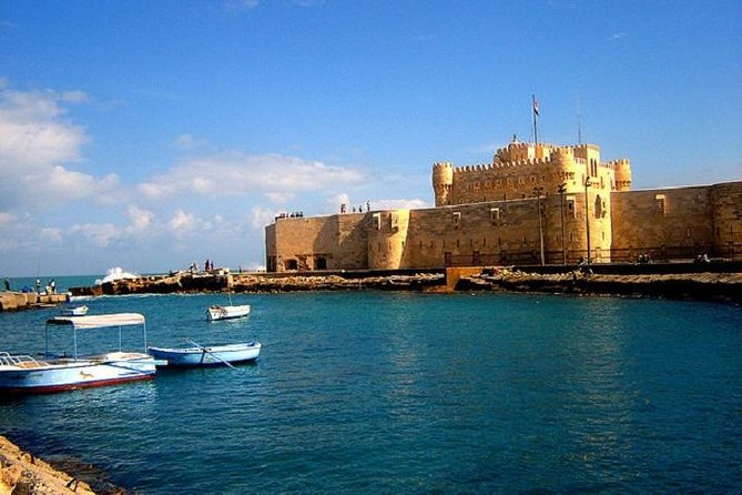 Day Tour to Mediterranean Port City of Alexandria from Cairo