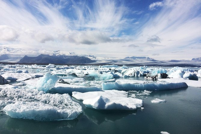 South Coast and Glacier Lagoon Day Trip by Super Jeep from Reykjavik