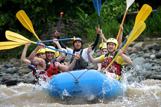 Savegre River Rafting Adventure from Quepos