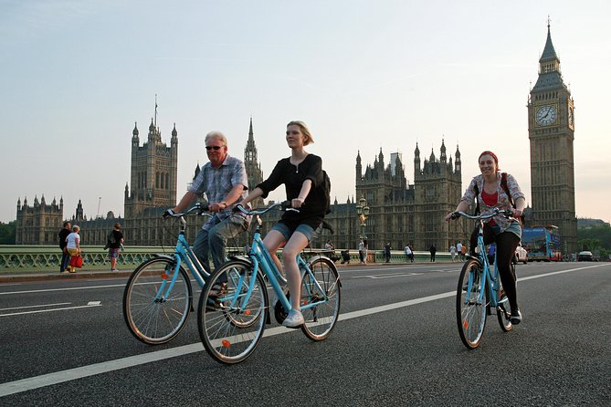 Classic London Landmarks Bicycle Tour